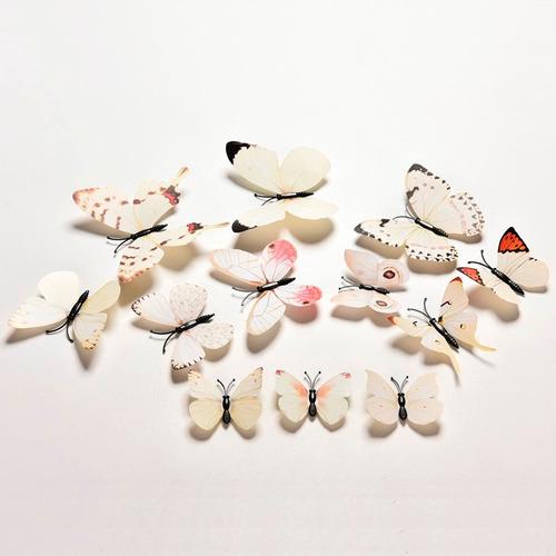 borboletas decorativas 7 kits com 12 peças cada 84 enfeites