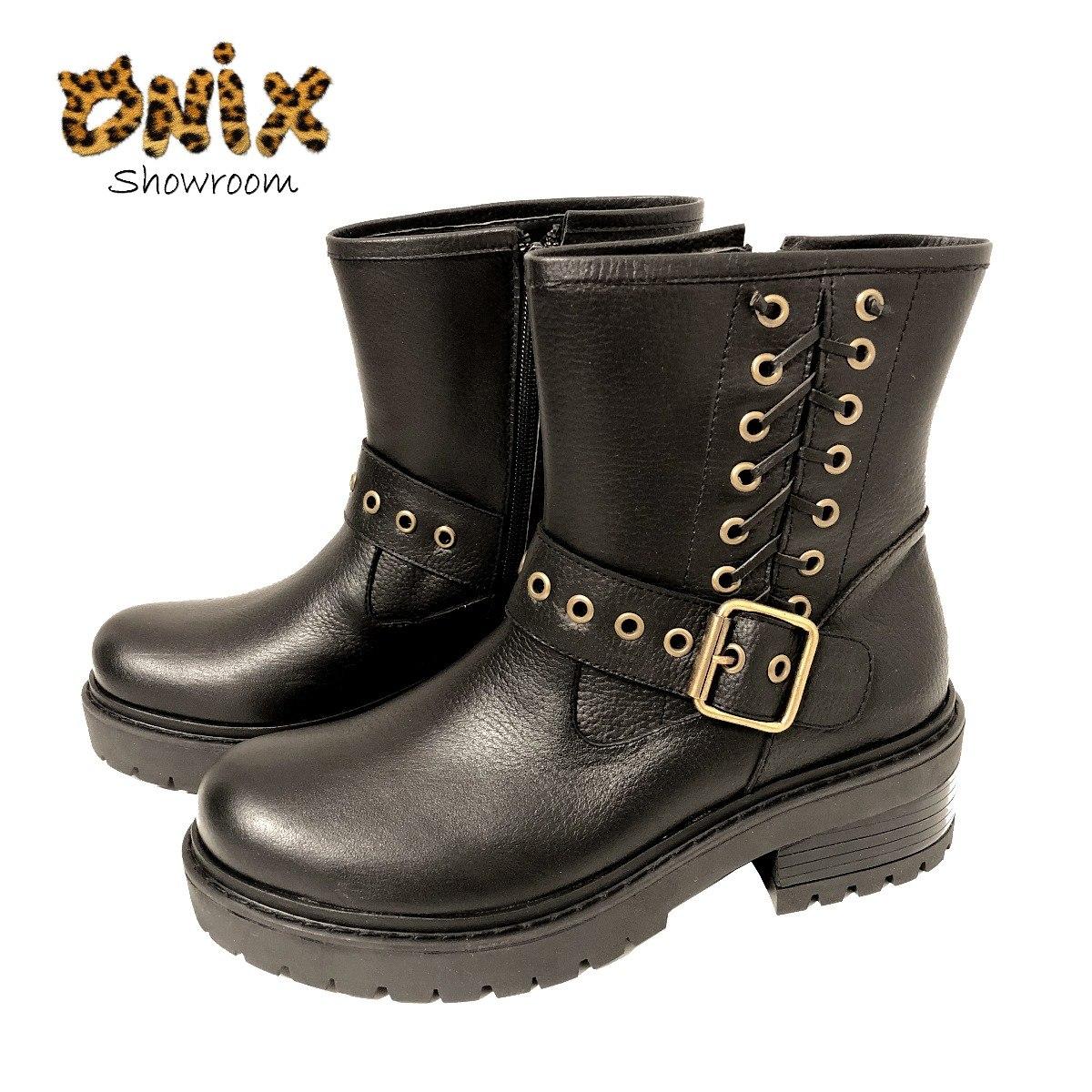 f87b3917643 Borcego De Cuero Zapatos Mujer Botas Botinetas Oferta -   2.350