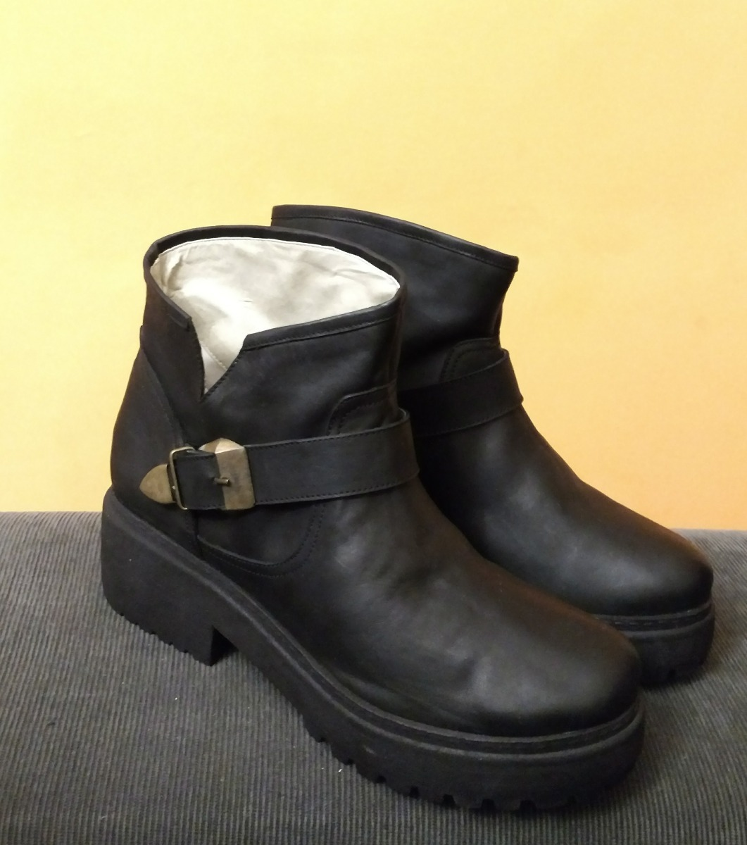 7f6e0aa8ea0 borcego hebilla de vista bota mujer botineta zapatobotinado. Cargando zoom.