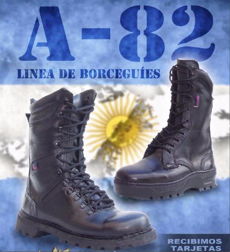 borcegos a-82 borcegui bomberos policías fuerzas espec elite