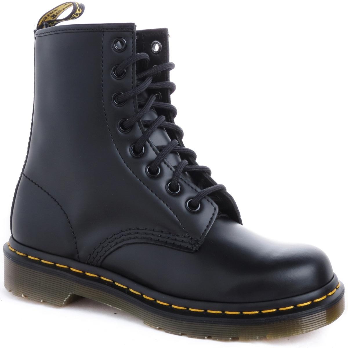 d2b1d1bb465 borcegos botas dr martens cuero hombre 1460 smooth importado. Cargando zoom.