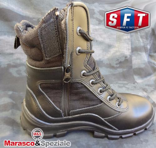borcegos / botas tácticas marasco & speziale negras - s f t®
