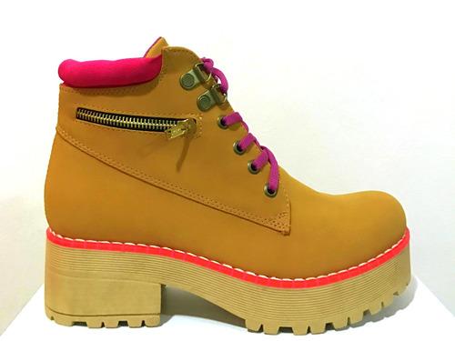 borcegos mujer zapatos