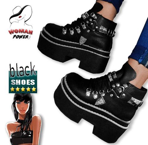 borcegos-negros-plataforma-invierno-tachas-moda-dama/mujer
