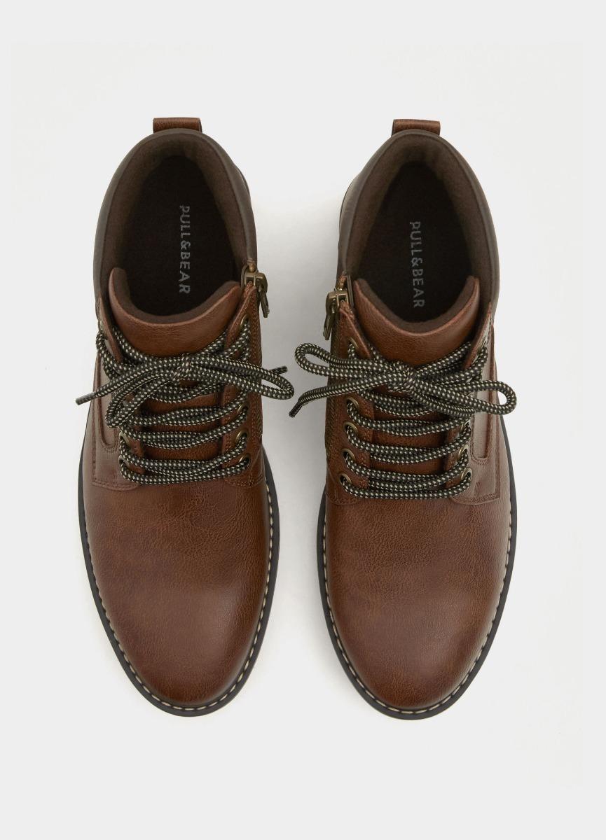 1b24d3426d pull bear borcegos zapatos botas hombre eco cuero zapatillas. Cargando zoom...  borcegos zapatos botas hombre. Cargando zoom.