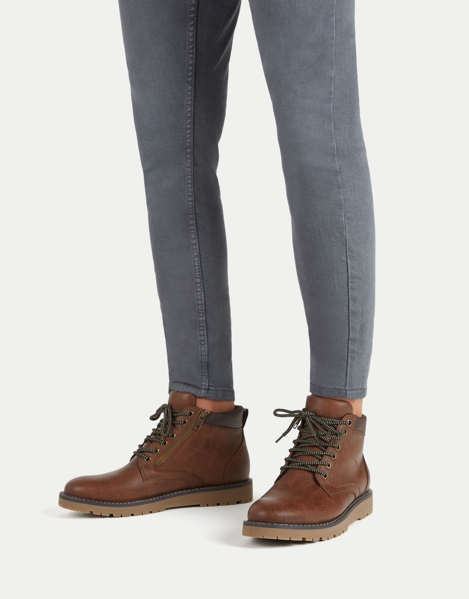 Botas Hombre Pull And Bear Shopping C7539 B8d34
