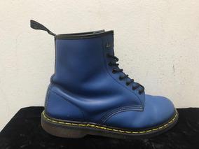 edc9d660c56 Borceguíes Dr. Martens 1460 Blue Vintage Made In England