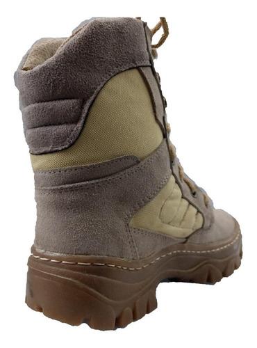 borceguies tacticos botas arena desert special forces cosido