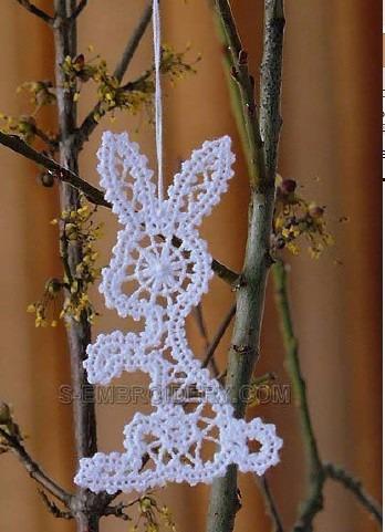 bordado computadorizado bc2891 lindo coelhinho lace