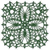 bordado computadorizado croche lace bc486