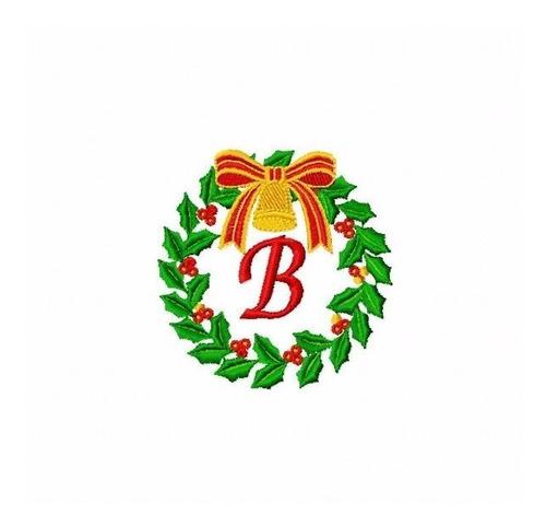 bordado computadorizados bc3429 alfabeto guirlanda