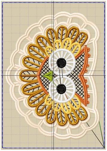 bordado computadorizados bc3728 animais cutwork rechelie