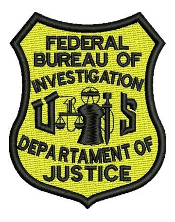 bordado termocolante fbi department of justice
