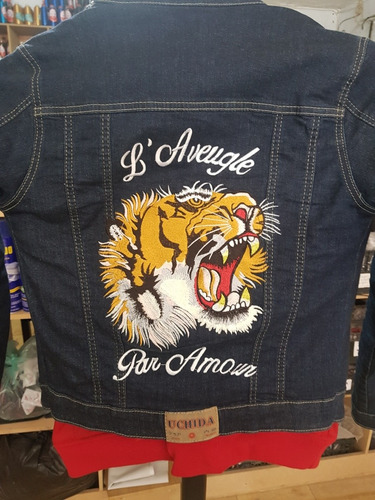 bordado tigre gucci idéntico