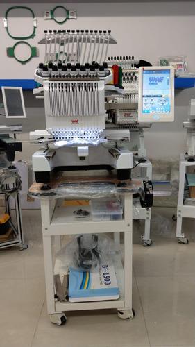bordadora waf compacta 15 agujas, maquina de bordar compacta