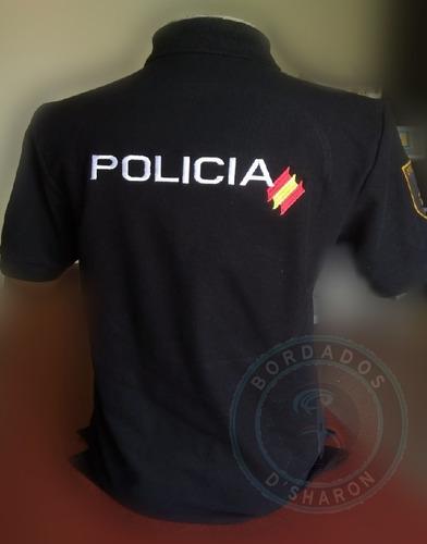 bordados automáticos para uniformes de guardias de seguridad