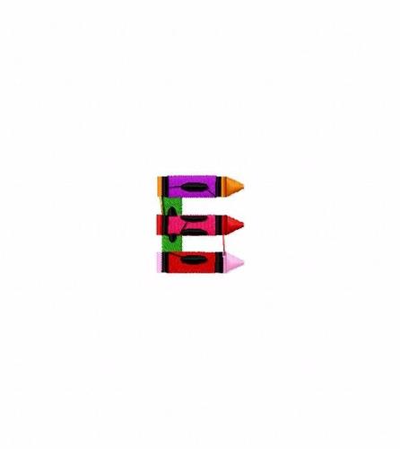 bordados computadorizado bc3652 lindo alfabeto lápiz