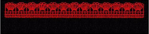 bordados computadorizados barrinha de croche bc10029