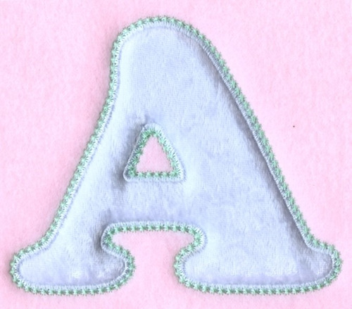 bordados computadorizados bc#296 alfabeto baby aplique