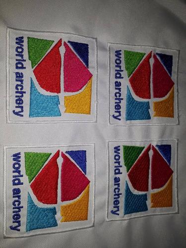 bordados de logos escudos,nombres,uniformes y mas $100