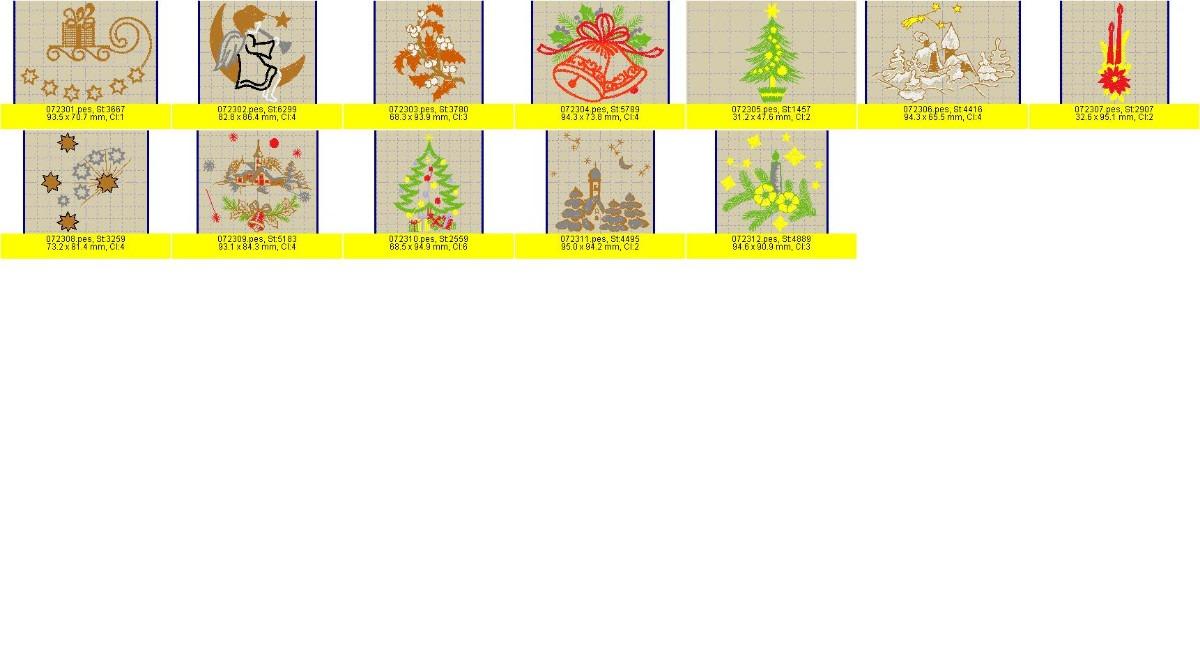 Bordados de navidad a solo son mas de mil for Melco mobiliario oficina