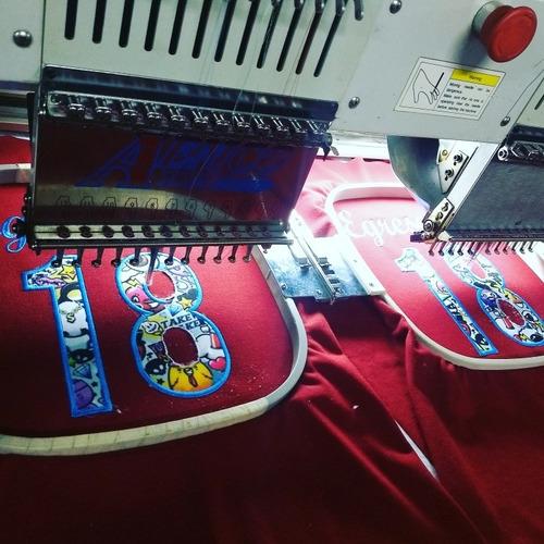 bordados para egresados y empresas! corte y estampado