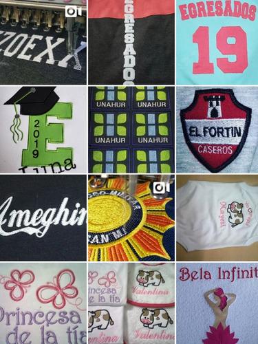 bordados personalizados logos nombres egresados