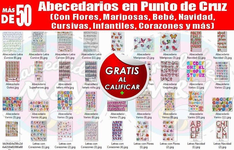 Bordados Punto De Cruz Revistas Manuales Patrones Y + - S/ 1,00 en ...