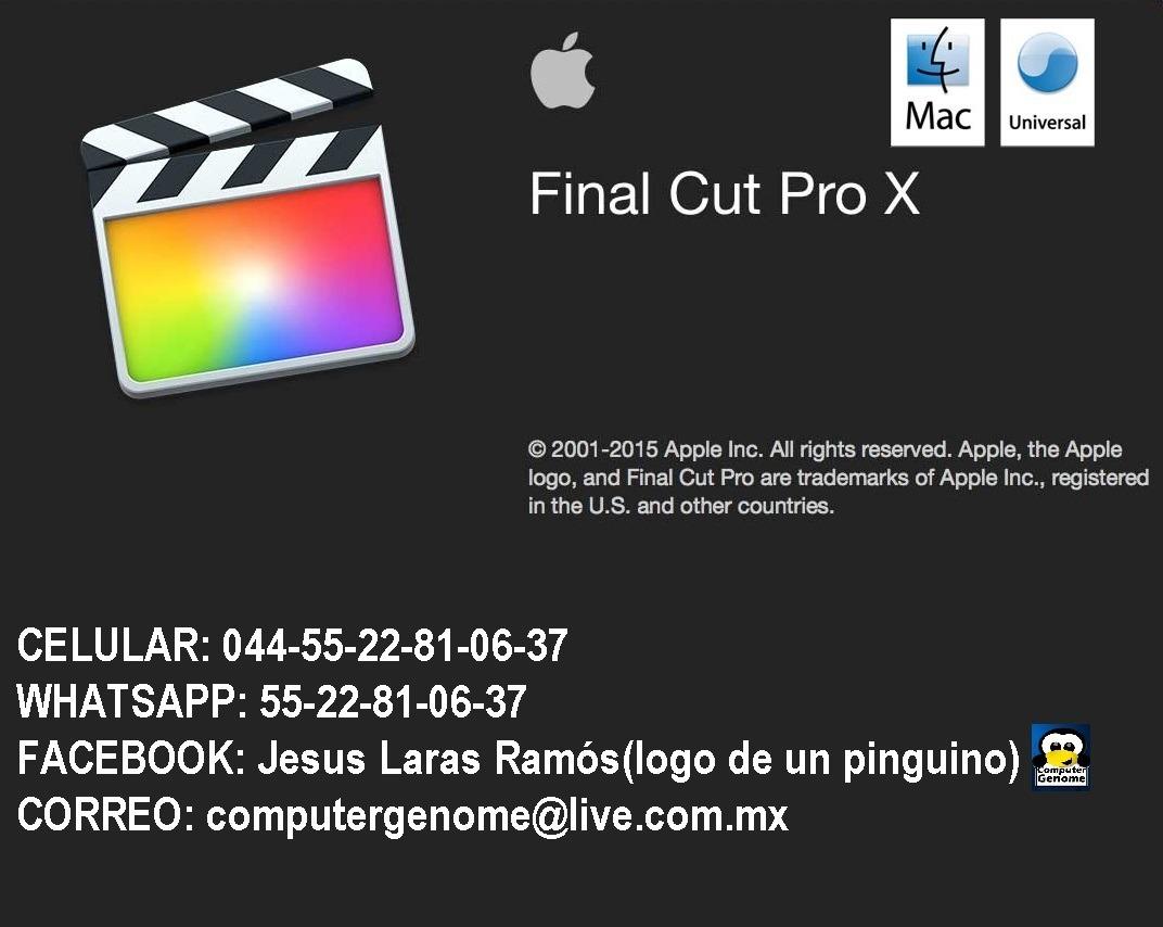 Bordados(0finalcut,filmora,cinema4d,red Giant,imovie,mac) - $ 300.00 ...