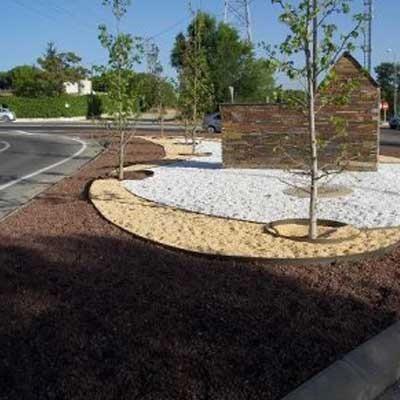 Borde para jardin 6 metros en mercado libre for Piedras decorativas jardin ikea