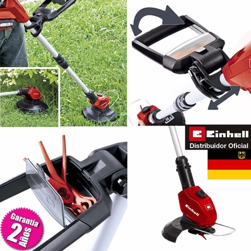bordeadora einhell  inalambrica ge-ct 18 li  + kit bat 3amp