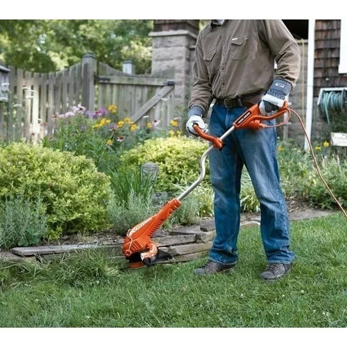 bordeadora electrica black decker 800w cesped jardin gl800