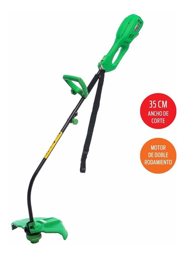 bordeadora eléctrica - liliana - jb10035 1000w 35cm de corte