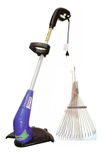 bordeadora electrica plumita 1000w 1.3hp + escoba ajustable