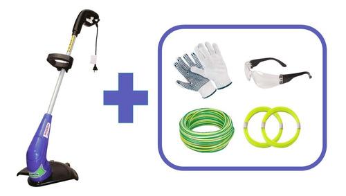 bordeadora eléctrica plumita 1000w + regalos - envío gratis