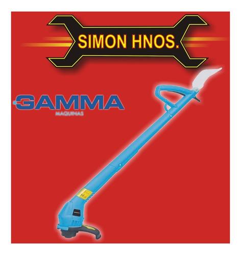bordeadora electrica portatil 300w gamma g3079 simon hnos.