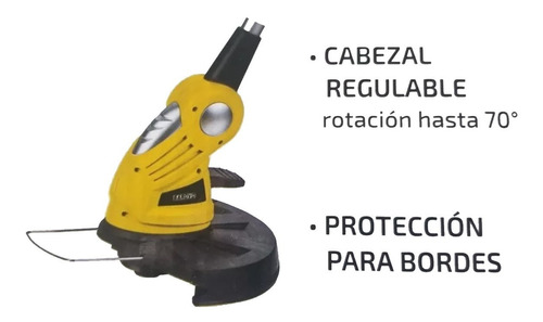 bordeadora inalámbrico a bateria litio barovo 18v 8000rpm