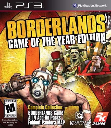 borderlands 1 - ps3 - digital - manvicio store