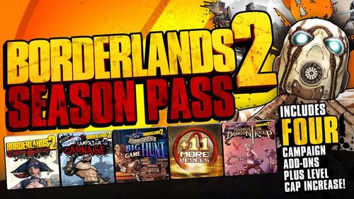 borderlands 1 y 2 + dlc's  super pack