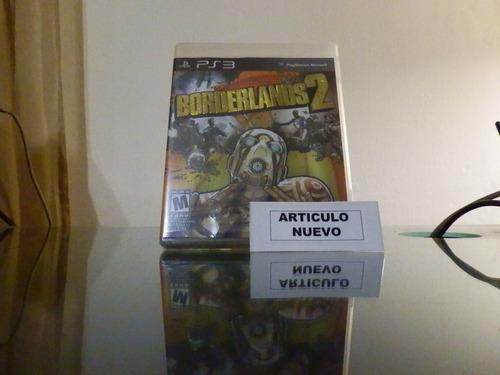 borderlands 2 - fisico - playstation 3