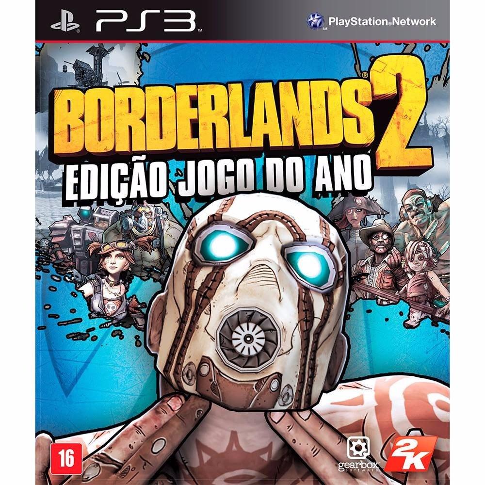 Borderlands 2 Jogo Do Ano Ps3 Original Lacrado Mídia Física