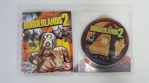 borderlands 2 - ps3 - original - mídia física