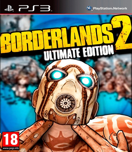 borderlands 2 ultimate edition ps3 digital gcp