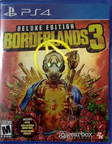 borderlands 3 ps4 deluxe edition