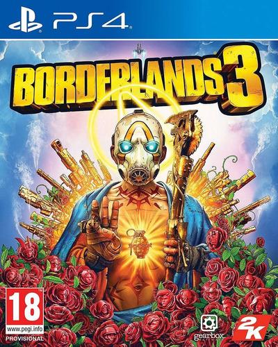 borderlands 3 ps4 fisico sellado ya en stock! envio gratis