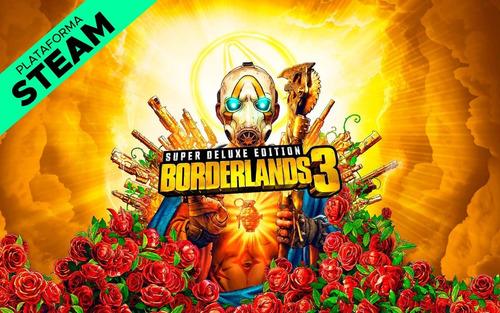 borderlands 3 super deluxe edition pc - steam key