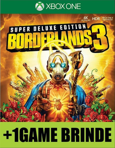 borderlands 3 super deluxe edition xbox one mídia