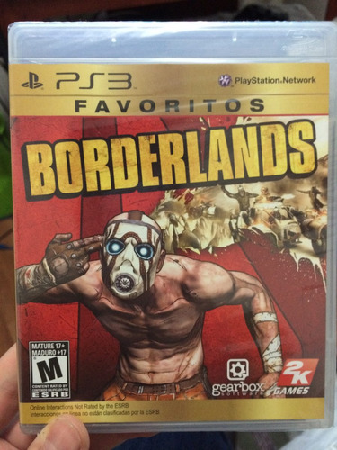 borderlands favoritos ps3, nuevo y sellado