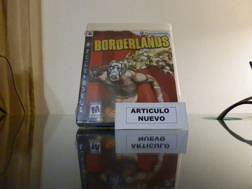 borderlands - fisico - playstation 3