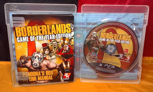 borderlands -juego -ps3
